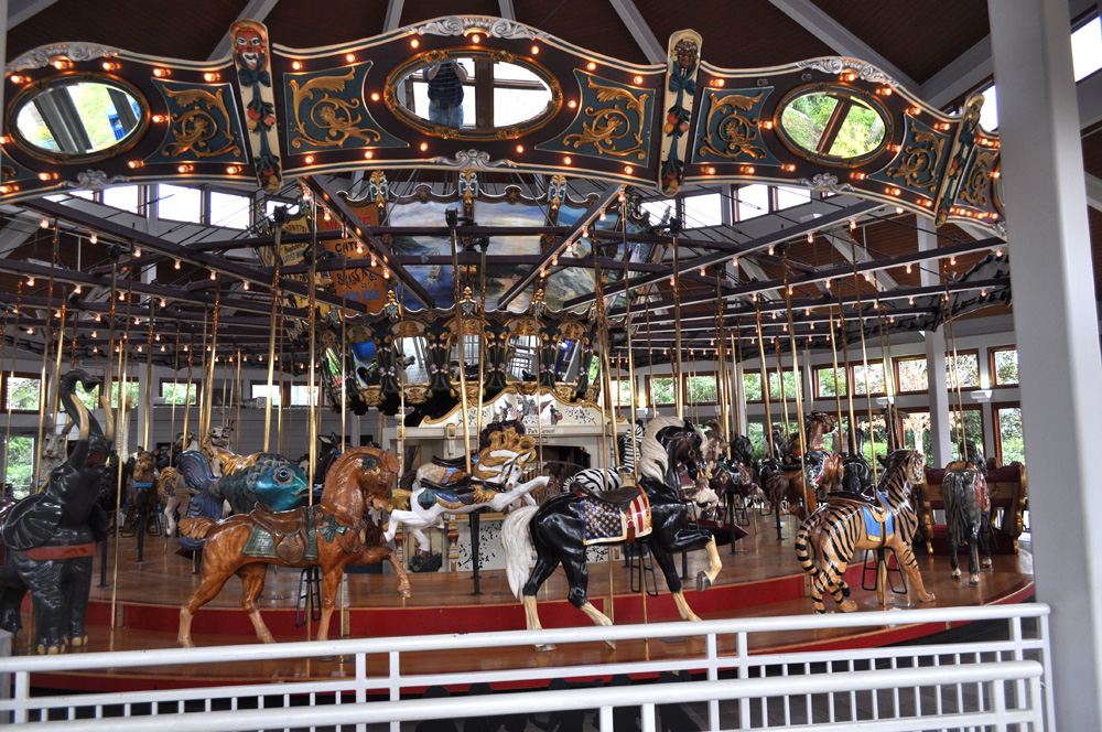 Indoor Wooden Carousel