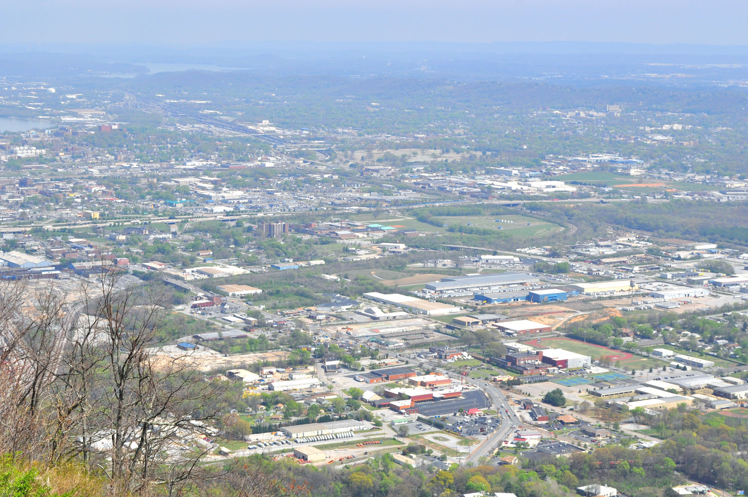 Chattanooga below