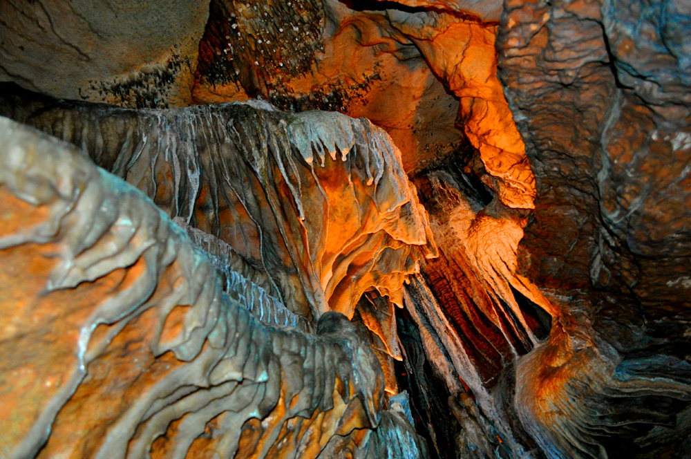 Cool - Irridescent cave formations