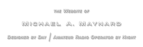 Website of Michael A. Maynard